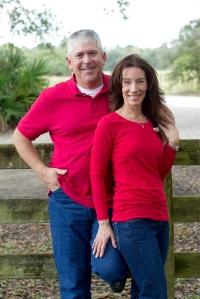 Pam and Chris Peake
