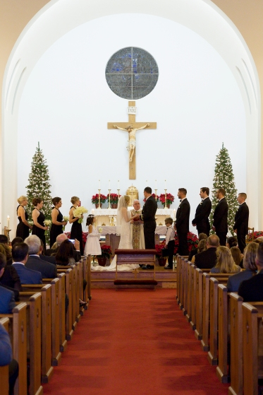 All Souls Catholic Church Wedding