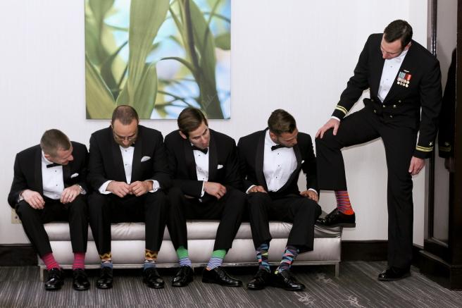 Groomsmen and Socks