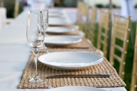 Head Table Simplicity