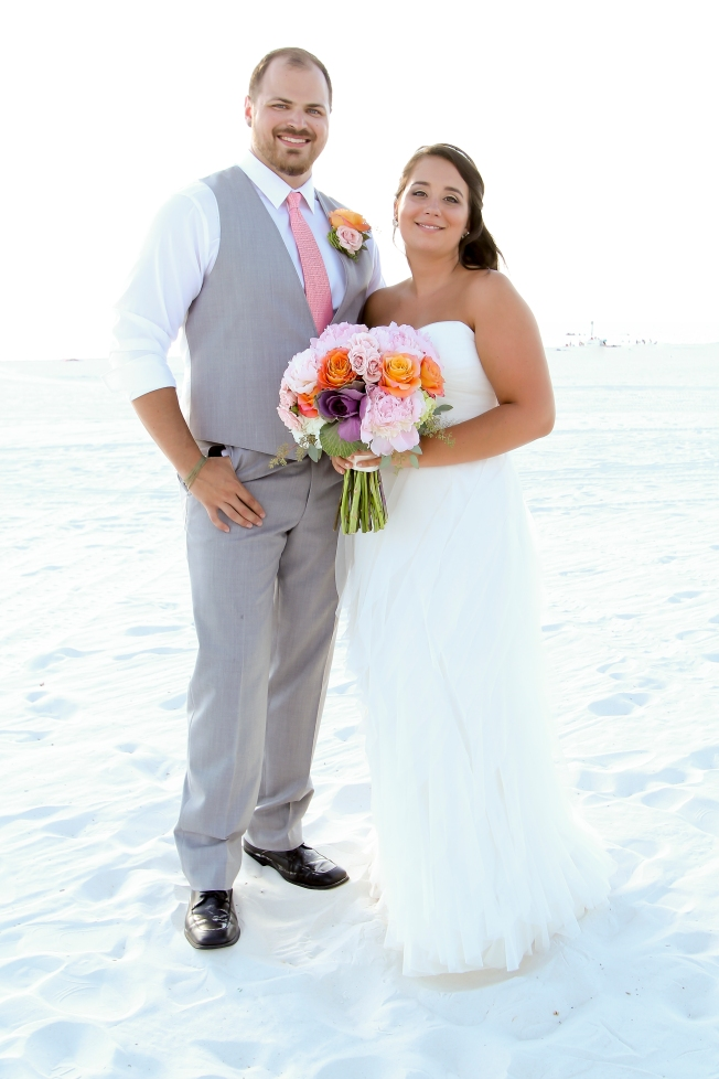 Hilton Clearwater Beach Bridal Portrait
